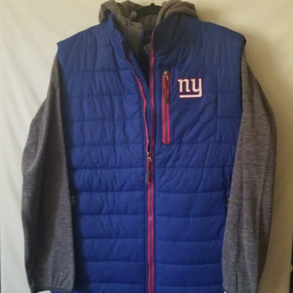 promo code 4c5bd eaf04 New York Giants Vest and Fleece Combo size L NWT
